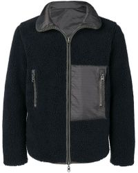 Sempach - Panelled Fleece And Shell Jacket - Lyst