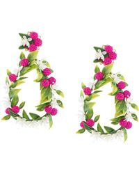 Mercedes Salazar - Fiesta Earrings - Lyst