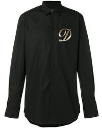 DSquared² - Embellished D Shirt - Lyst