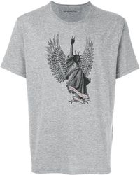 John Varvatos - Statue Of Liberty Print T-shirt - Lyst