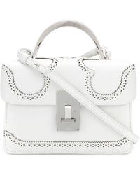 the VOLON - Mini Box Bag - Lyst