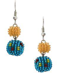 Serpui - Beaded Earrings - Lyst
