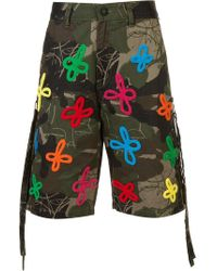 Haculla - Embroidered And Printed Bermuda Shorts - Lyst