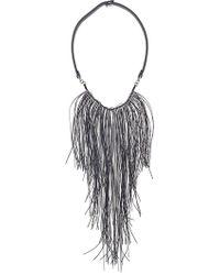 Fabiana Filippi - Fringe Strand Necklace - Lyst