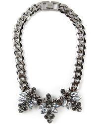 Mawi - 'triple Firelfy' Necklace - Lyst