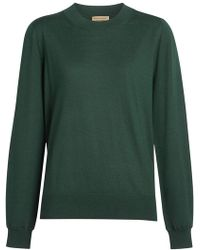 Burberry - Crew Neck Sweater - Lyst