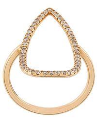 Diane Kordas - Gemstone Embellished Ring - Lyst