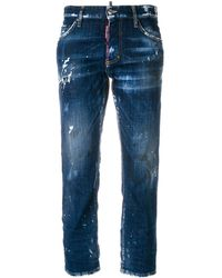 DSquared² Distressed Hockney Jeans