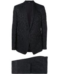 Dolce & Gabbana - Floral Jacquard Two Piece Suit - Lyst