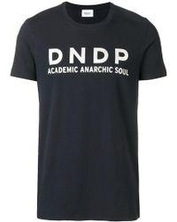 Dondup - Logo Print T-shirt - Lyst