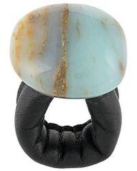 Monies - Maxi Stone Ring - Lyst