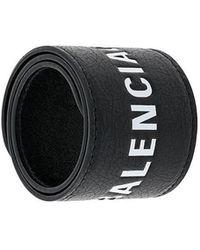 Balenciaga - Branded Wristband - Lyst