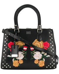 Schutz - Floral Embroidered Tote - Lyst