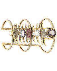 Camila Klein - Strass Embellished Bracelet - Lyst