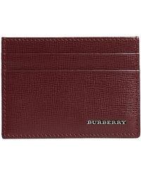 Burberry - London Card Case - Lyst