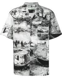 Off-White c/o Virgil Abloh - Lake Print Shirt - Lyst