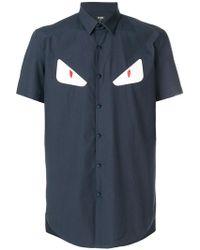 Fendi - Monster Eyes Shirt - Lyst