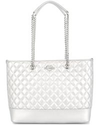 Love Moschino | Large Quilted Tote | Lyst