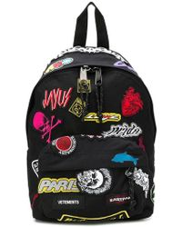 Eastpak - Embroidered Stickers Backpack - Lyst