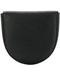 Valextra - Textured Coin Purse - Lyst