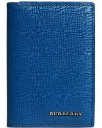 Burberry - London Folding Card Case - Lyst
