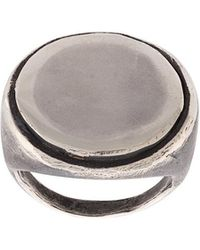 Detaj - Coin Finger Ring - Lyst