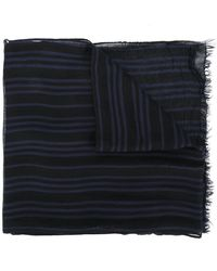John Varvatos | Striped Scarf | Lyst
