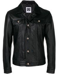 Les Hommes - Panelled Overshirt Jacket - Lyst