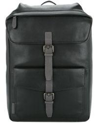 Cerruti 1881 - Buckle Strap Backpack - Lyst