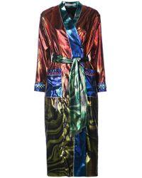 Mary Katrantzou - Marble Oil Design Kimono Jacket - Lyst