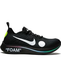 low priced 69521 811af Nike - X Off White  Zoom Fly Mercurial FK   OW  Sneakers - Lyst