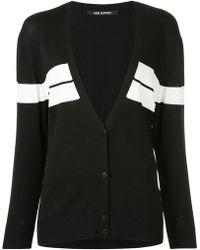 Neil Barrett - Chest Stripe Oversized Sweater - Lyst