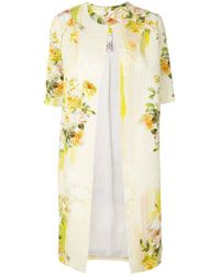 Antonio Marras - Shortsleeved Floral Coat - Lyst