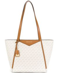 MICHAEL Michael Kors - Whitney Small Logo Tote - Lyst