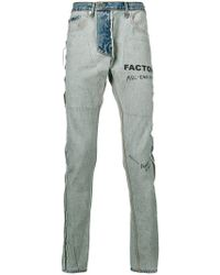 MR. COMPLETELY - Factory Reversed Jeans - Lyst