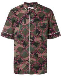 Valentino - Short Sleeve Pyjama Shirt - Lyst