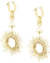 Ellery - Strangerland Large Sun Earrings - Lyst