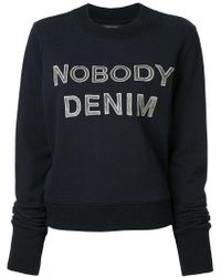 Nobody Denim - Nobody Favourite Sweat Alpha - Lyst