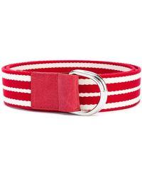RED Valentino - Striped Belt - Lyst