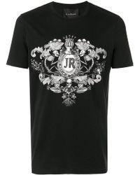 John Richmond | Logo Crest Print T-shirt | Lyst