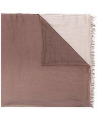 2861dab3b N.Peal Cashmere - Bufanda con estampado dip dye - Lyst