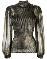 I'm Isola Marras - Metallic Glow Sweater - Lyst