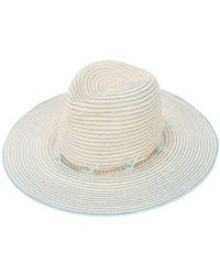 Gigi Burris Millinery - Striped Hat - Lyst