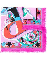Emilio Pucci - Printed Square Scarf - Lyst