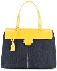 Myriam Schaefer - Two-tone Lord Tote Bag - Lyst