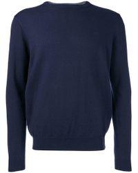 Sun 68 - Fine Knit Sweater - Lyst