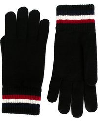 Moncler - Striped Edge Gloves - Lyst