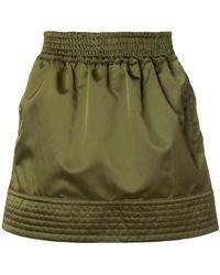 N°21 - High Shine Sporty Skirt - Lyst