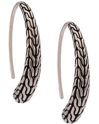 John Hardy - Small Hoop Earrings - Lyst