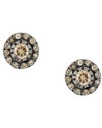 Ileana Makri - Solitaire Earrings - Lyst